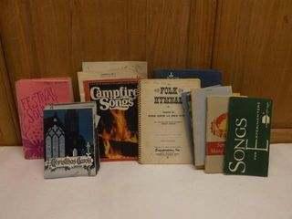 Various Song Books