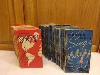 SongFest and Pioneer Girl Vintage Booklets