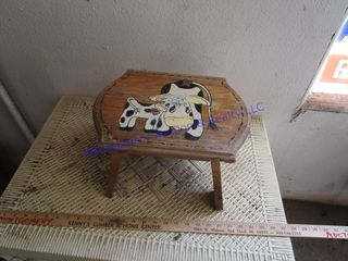 COW STEP STOOl
