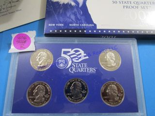 2001 STATE PROOF SET