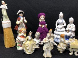 10 Japanese Figurines