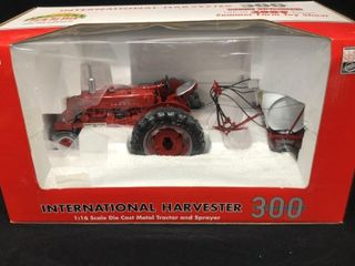 Case IH 300 1 16 Metal Tractor and Sprayer