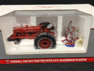 Farmall 300 Tractor with 251 McCormick Planter