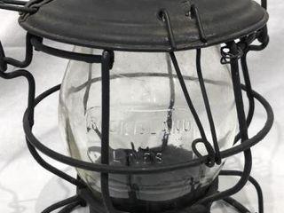 Rock Island Railroad lines Kerosene lantern
