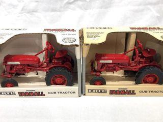 2 Farmall Cub Tractors