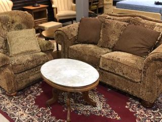 Matching love Seat and Recliner