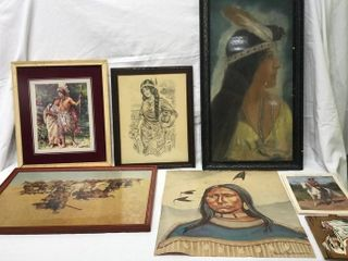 Native American Pictures and Buffalo Bill