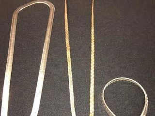 3 Silver Jewelry Pieces