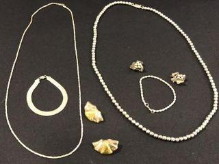 925 Silver Necklaces  Earrings  Bracelets