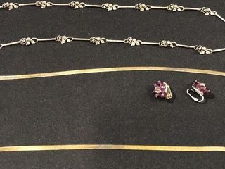 2  925   Sterling Silver Necklaces