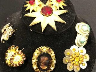 Earring and Brooch Sets