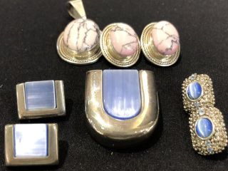 Earring Sets with Necklace Charms