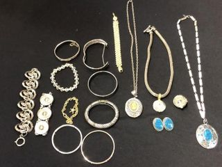 16 Pieces of Assorted Jewelry