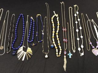 Assorted Necklaces  Bead Jewelry   1  925