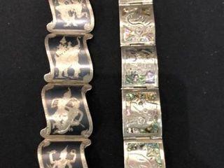 Sterling Bracelets and Earrings