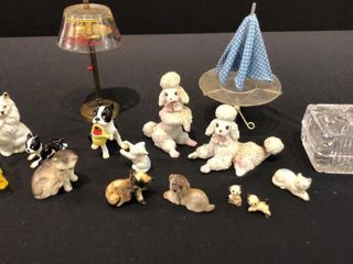 Miniature Cat and Dog Figures