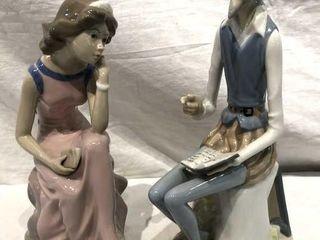 Casades Spanish Porcelain Man and Woman