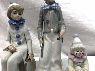 Casades Clown Family Porcelain