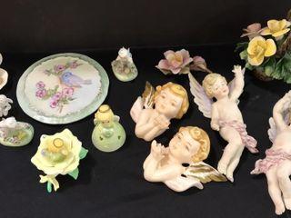 Decorative Glass Angel Decor  Precious Moments