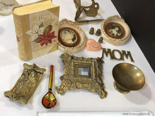 Brass Misc  Decor  Pictures  Book Box