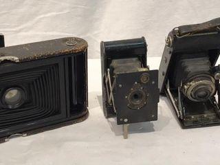 4 Antique Cameras