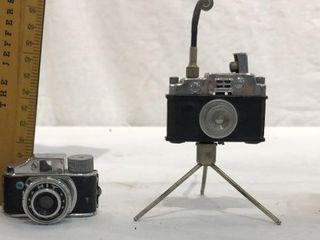 4 Miniature Cameras