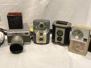 6 Vintage Cameras