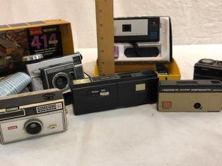 Kodak Instamatic Cameras  Imperial and Vivitar