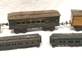 Antique O ScaleTrain Cars