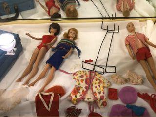 Set of Barbie Dolls