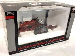 IH Farmall 400 Gas w   31 Mower  1 16 Scale