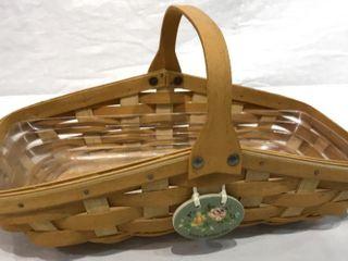 longaberger MotherIJs Day Basket w  Handle  2005