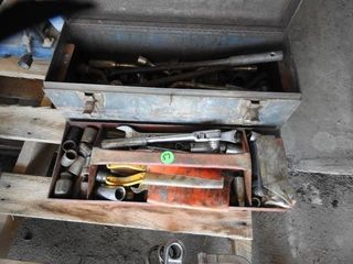SOCKETS   WRENCHES IN TOOlBOX