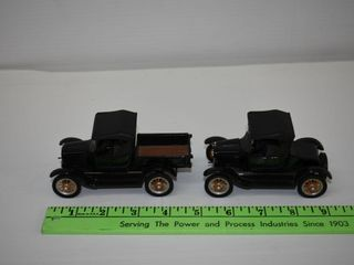 (2) Ford Model T