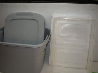 (2) Totes with Lids