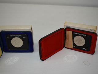 1970 & 1971 Canadian Dollars