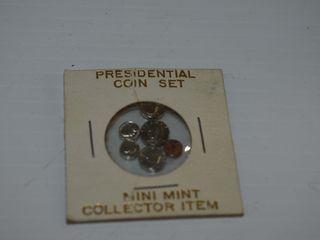Mini Mint Presidential Coin Set