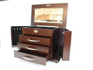 """Large Jewelry Case with Key 12"""" X 18"""""""