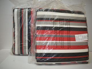 2  New Outdoor Chair Cushions