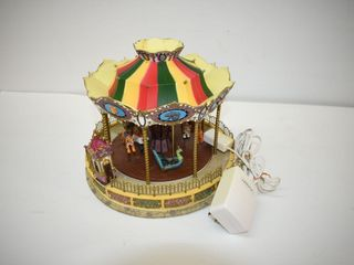 Carousel lamp with Music does not turn