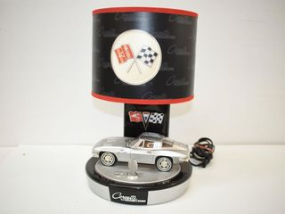 Corvette Sting Ray lamp with Car Engine Sound