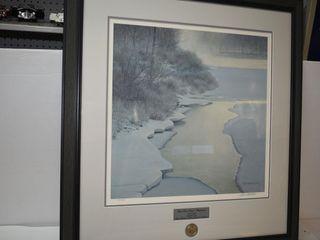 "Robert Bateman Print 2247/7000 34"" x37"""