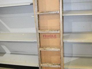 "Rustic Blanket Ladder 72"" tall"