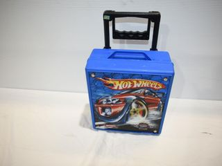 Hot Wheels Carrying Case with some Cars