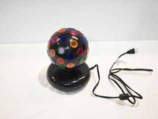 Disco Rotating Lamp-works