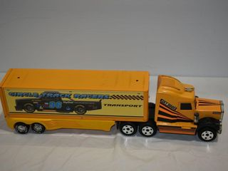 Nylint Circle Track Racers Truck   Trailer
