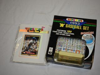 1993 Toys R Us Baseball Set and Extra Photos