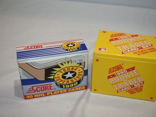 1990 score NHl Player   Rookie Card Sets