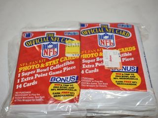 1989 NFl Pro Set Football Cards