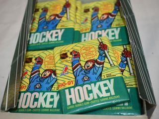 1990-91 O-PEE-CHEE Hockey Cards